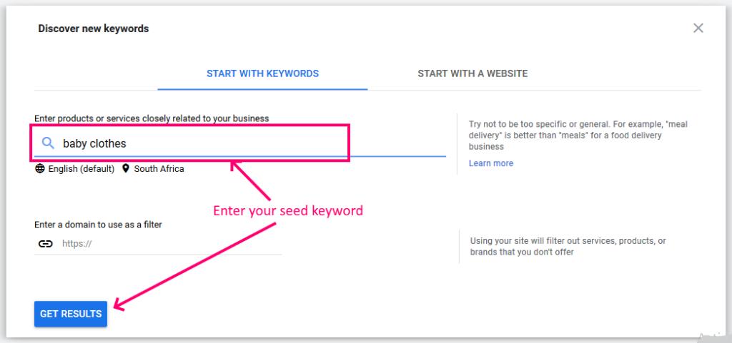 google-keyword-planner-seed-keyword
