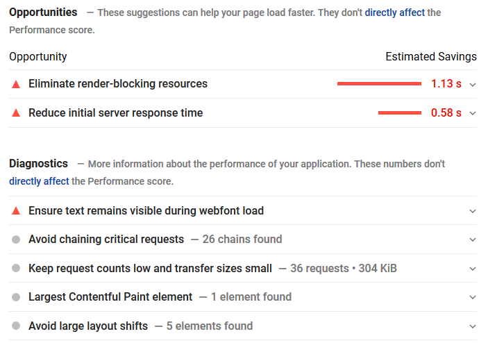 Google's PageSpeed Insights shows you precisely what you need to do to make your web page faster