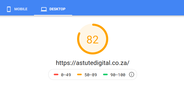 PageSpeed Insights is a free tool from Google to analyze the mobile and desktop performance of a website.